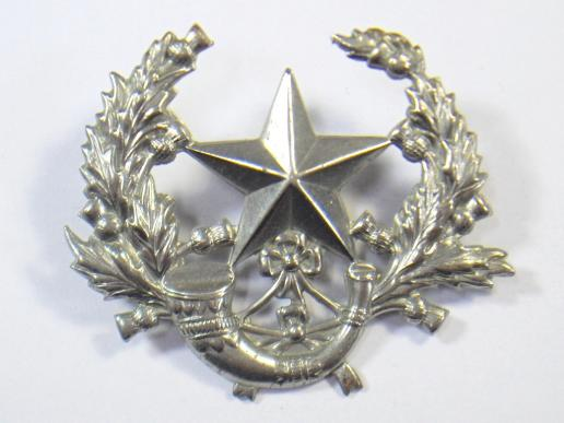 Cameronians Glengarry Badge.