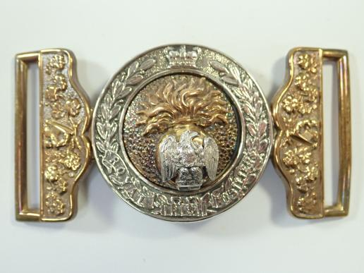 Royal Irish Fusiliers Victorian Officers Waist Belt Clasp .