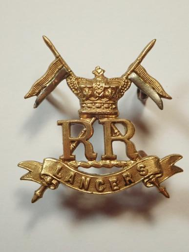 Her Majestys Reserve Regiments (Lancers) Cap Badge.